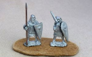 FEF07 12th C Infantry spearman
